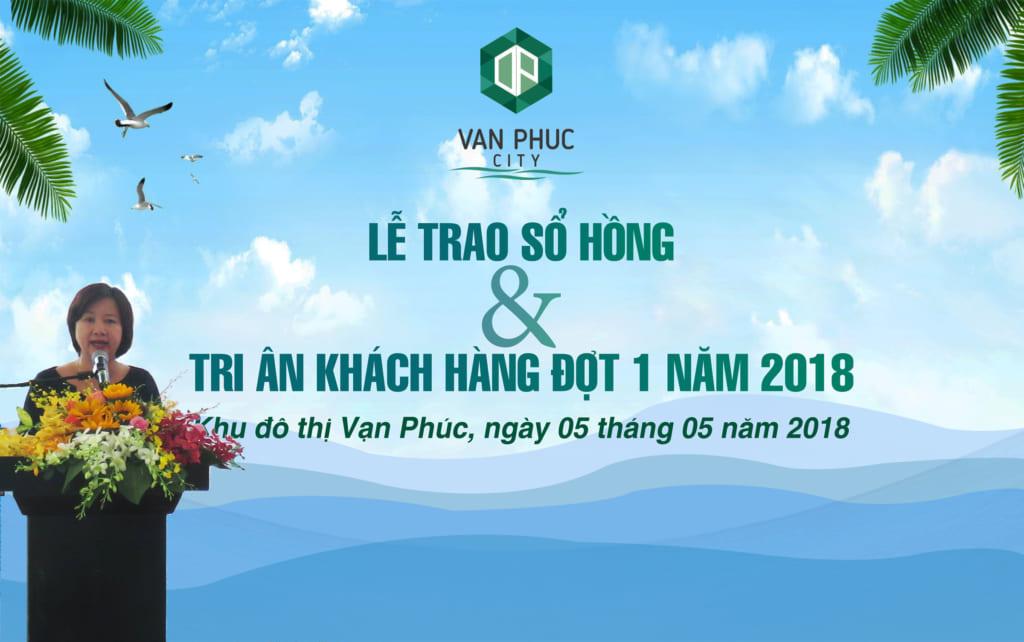 Bà Hương Nguyễn - Tổng Giám đốc Công ty CP Bất động sản Đại Phúc Land phát biểu tri ân khách hàng tại sự kiện.