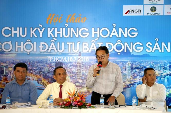 Ông Phan Trường Sơn – Trưởng phòng Phát triển nhà và thị trường bất động sản Sở Xây dựng TP.HCM