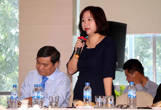 Bà Nguyễn Thị Thanh Hương – Tổng giám đốc Công ty cổ phần Bất động sản Đại Phúc Land