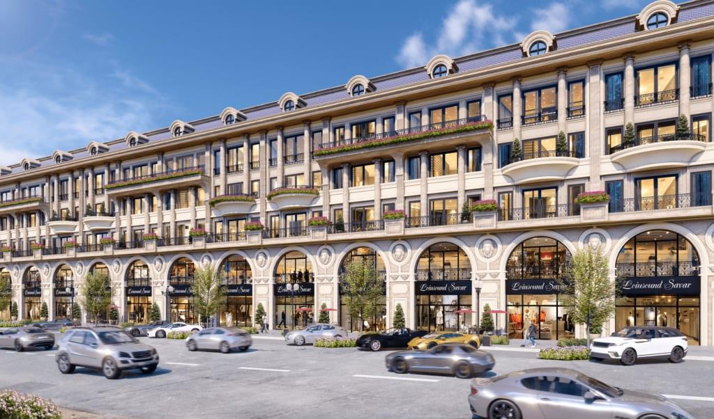 Premium Shophouse mặt tiền phố đi bộ Royal Vạn Phúc là kênh đầu tư cực kỳ tiềm năng cho khách hàng