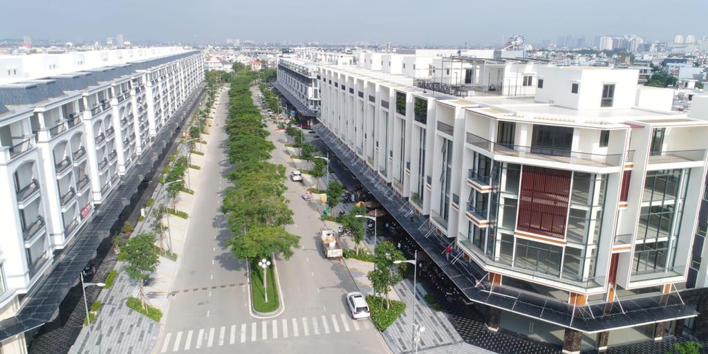Không gian sống xanh - hiện đại - đẳng cấp tại Khu đô thị Vạn Phúc