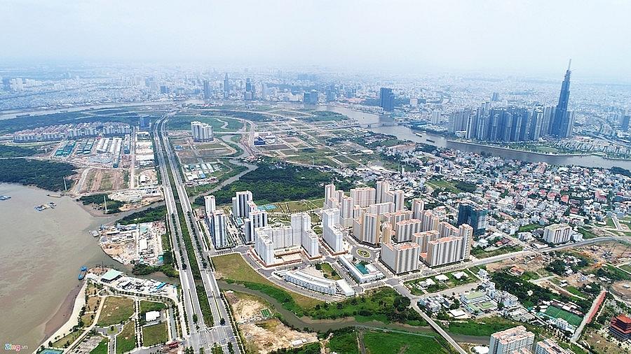 Thị trường chung cư TP.HCM tăng sức hút nhờ đề án Thành phố Phía Đông.